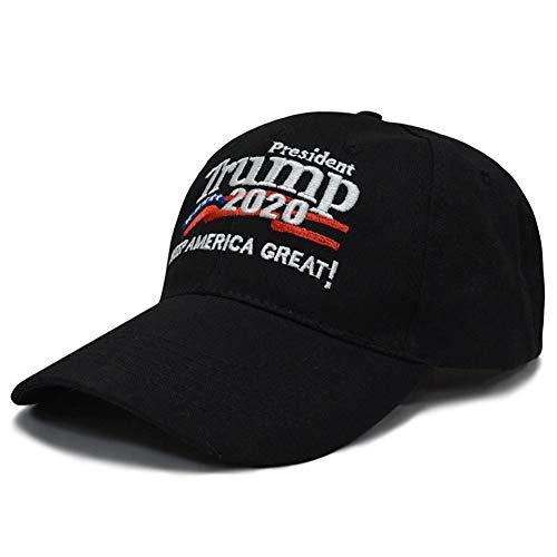 "Opfury 2020 mit Armband Baseballmütze Unisex Baseball Mütze der Kampagne""Donald Trumps Wahlkampf-Kappe 2020"" Make America Great Again gestickte Baseballmütze Rot Halloween"