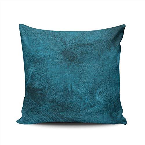 Custom Sunshine Beach Island Getaway Funda de Almohada Decorativa Throw Pillow Case Cover Zippered Square Double Side Printed 18x18 Inches-Multi 05