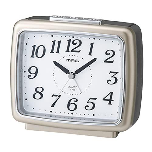 MAG 自動点灯目覚まし時計 ブリリア T-722