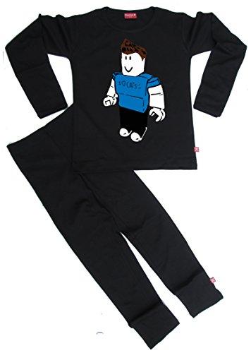 Stardust Ethical - Pijama infantil Denis YouTube Gamer, color negro
