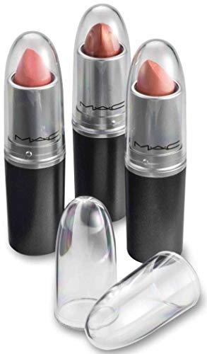 byAlegory Klar Lipstick Caps für MAC - Ersetzt die Originalkappe, um Ihre Lieblingslippenstiftfarbe leicht zu sehen (12 Caps)