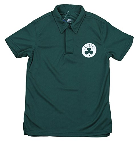 Outerstuff NBA Boy's Youth Performance Polo, Boston Celtics Medium (10-12)