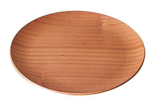 光洋陶器 ウッド 丸トレー 30cm レッドマホガニー T1016007