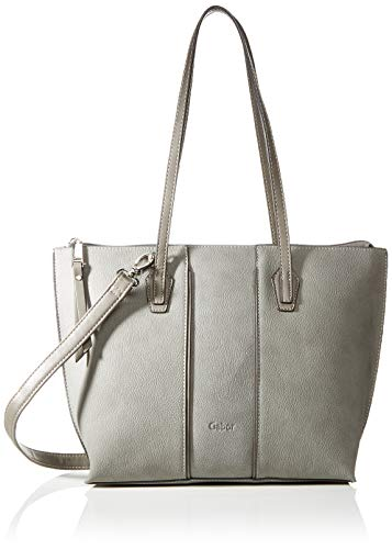Gabor Shopper Damen Anni, Grau (Grau), 35x24x12 cm, Gabor Tasche Damen