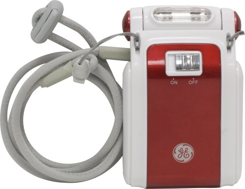 GE Hands-Free LED Book Light, Red 17280