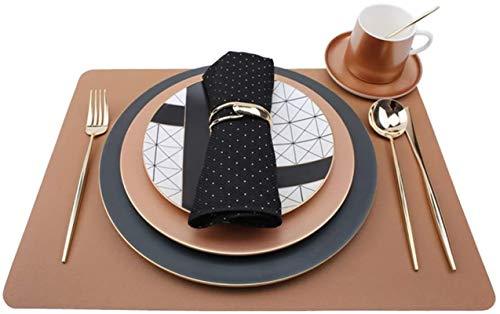 HSWYJJPFB Platos Hotel Vajilla 11 Piezas Set Plato Servilleta Mantel Tenedor Cuchara Copa Combinación