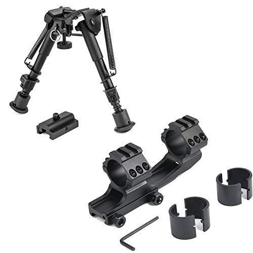 BESTSIGHT - Anillos de montaje para rifle (1.181in, 6 a 9 pulgadas)
