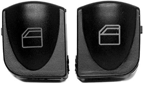 Twowinds Fensterhebers Schalter linken und rechten Tasten Abdeckungen C-Klasse W203 A2038210679 (2 Stück)