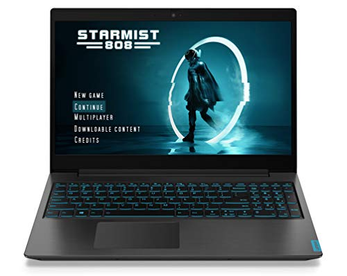 "Lenovo ideapad L340 - Ordenador Portátil Gaming 15.6"" FullHD (Intel Core i7-9750H , 8GB RAM, 512GB SSD, NVIDIA GTX1650-4GB, Sin Sistema Operativo), Negro- Teclado QWERTY español"