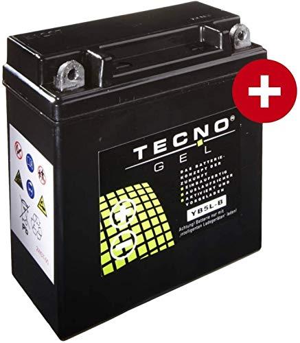 YB5L-B TECNO GEL-Batterie für Sfera 80 Baujahr 1991-1996