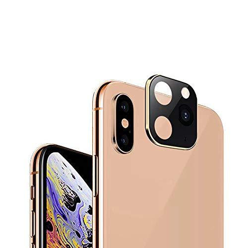 Lechnical Lenti per Fotocamera in Alluminio alumio di Metallo Modifica dei Secondi per i-Phone 11 Protector Compatibile per i-Phone X XS Max Custodia