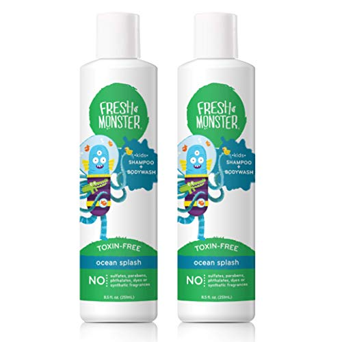 Fresh Monster Shampoo & Body Wash Ocean Splash