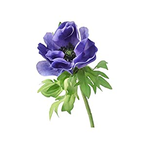 Anemone Artificial Flower, Creative Fake Flower, for Home Living Room Bedroom Floral Decoration