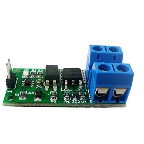 3.3-24V / 9-24V 8A Module de commutation auto-verrouillage pour le contrôle d'accès, Ouvre-porte de garage Wifi DIY
