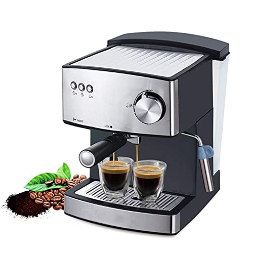 Coffee Machine 1.6L Electric Coffee Maker Fast Electric Foam Coffee Machine Electric Milk Frother Kitchen Appliance 850W BJY969