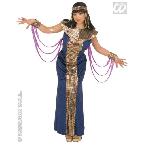 Desconocido Disfraz de Nefertiti Azul