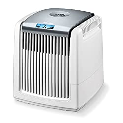 Beurer LW 220 air washer, air humidification and air purification in one device, for rooms up to 40 m², white