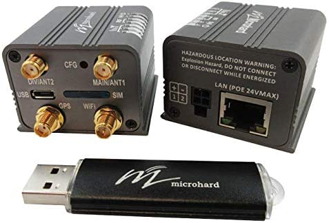 IoT 150 Mbps CAT4 LTE Ethernet Gateway with 802.11 WiFi