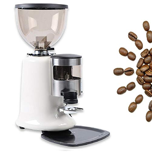 Coffee Grinder Espresso Machine Commercial Coffee machine Burr Mill Machine 350W 110V 1400RPM w/Bean Hopper