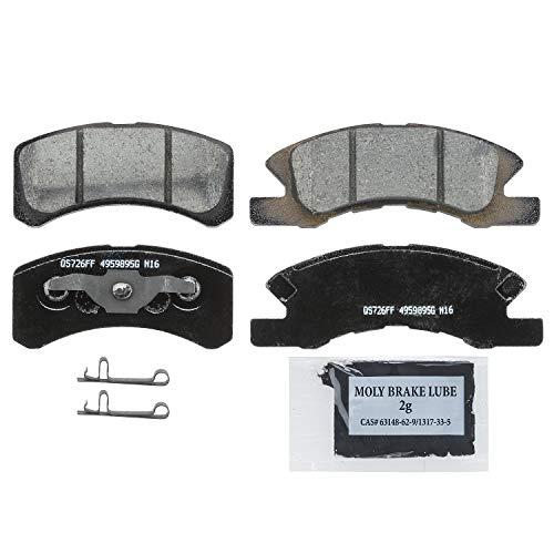 Wagner QuickStop ZD1731 Ceramic Disc Brake Pad Set