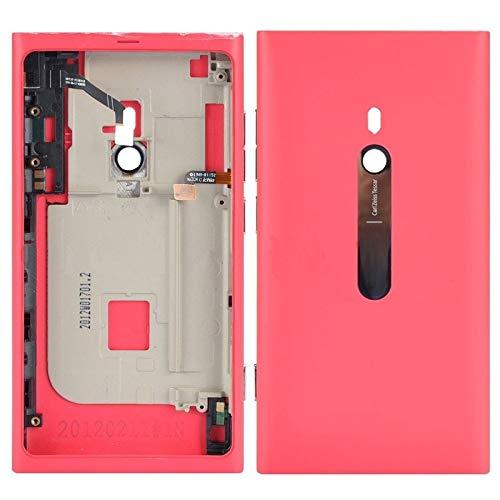 MENGHONGLLI Parti di Ricambio del Telefono Cellulare Coperchio Posteriore della Batteria con Pulsanti for Nokia Lumia 800 (Nero) (Colore : Rosa)