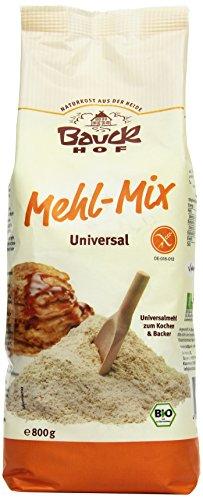 Bauckhof Mehl-Mix Universal glutenfrei, 4er Pack (4 x 800 g) - Bio