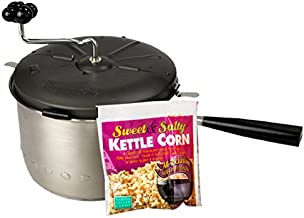Wabash Valley Farms - Sweet & Easy Snack Machine - 1 Kettle Corn All Inclusive Popping Kit