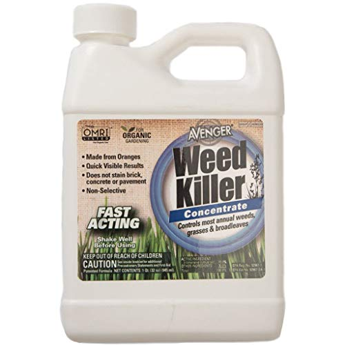 AVENGER Organic Weed Killer, biodegradable, non-toxic -...