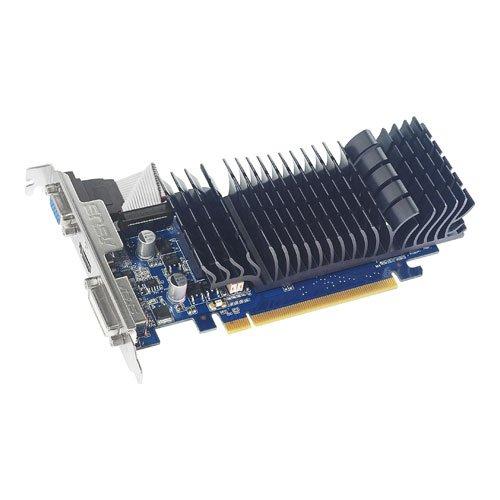 ASUS GeForce 210 512 MB 64-Bit DDR3 PCI Express 2.0 x16 HDCP Ready Low Profile Ready Video Card - EN210 SILENT/DI/512MD3/V2(LP)