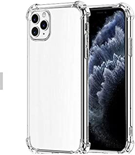 Clear iPhone 11 Pro Max Cover Shock Absorption Phone Cases 6.5, Soft TPU & Hard PC providing shock-absorbent & scratch res...