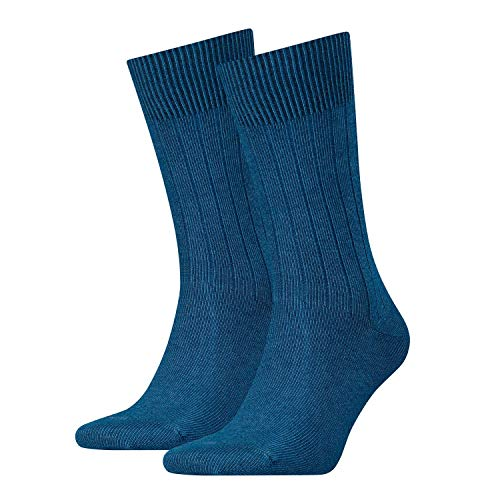 Levi´s 2-er-Pack Levis 120SF Regular Cut Socks Strümpfe Businesssocken, Größe:39-42, Textilien Form Farbe Levis:Blue Jeans