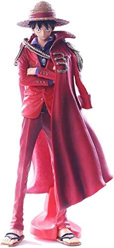One Piece Cape Luffy Postura de pie Personaje de Anime Estatua Modelo Figura de acción Colección Juguete 25cm
