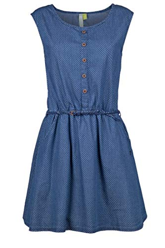 alife and Kickin Scarlett A Dress Damen Sommerkleid, Jerseykleid, Strandkleid, Kleid, Dark Denim Circles, M
