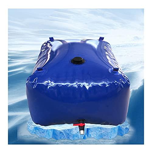 YAYADU-Storage Basket Contenedor De Agua Plegable, Recipiente Portador De Agua para Automóvil, Portátil De Compresión De PVC, para Jardín De Resistencia A La Sequía Agrícola Personalizable