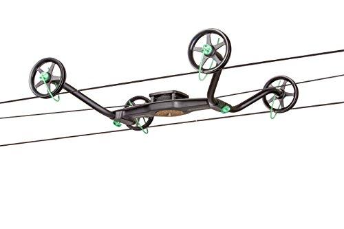 Syrp Slingshot Cable Cam,Time-Lapse bis zu 100m Länge, Einfaches Einrichten, Schnellwechseldesign, Inkl.Seil u. Tasche, Zusätzliche Bewegungssteuerung (Motion Control) erforderlich, über App steuerbar