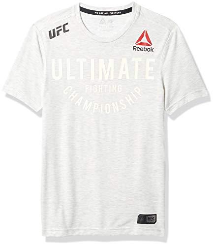 Reebok UFC male Fight Night Authentic Ultimate Jersey, chalk,