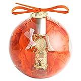 Caja Belleza en Bola de Arbol de Navidad con 1 Eau de Toilette de Mujer Joie y 1 llavero de la Torre Eiffel Paris|Perfume Lirio de los Valles, Azahar, Rosa|Aroma Floral, Afrutada, Colonia 55ml