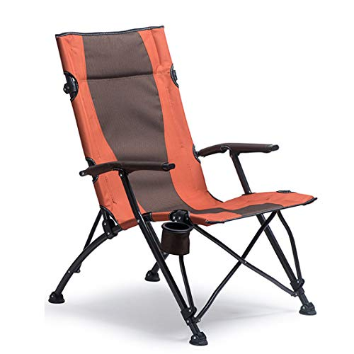 Folding Camping Chair High Back Directors - with Cup Holder Carry Bag Durable Outdoor Patio Seat Picnic Beach Fishing Support 400 lbs