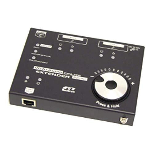 BeMatik - VGA en audio-extender via UTP op 900m. 300 m repeater