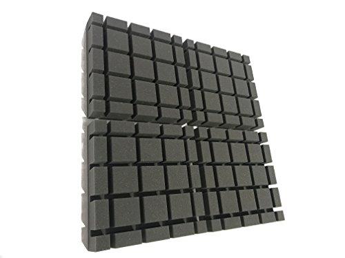 Advanced Acoustics - Espuma acústica en forma de cubo, paquete de 12...