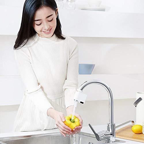 Enjoyyouselves Dispositivo de ahorro de agua por inducción IPX6, protección contra desbordamiento de agua