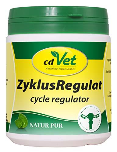 cdVet Naturprodukte ZyklusRegulat 300 g - Hund - Ergänzungsfuttermittel - Unterstützung hormoneller Prozesse + Regulierung des Hormonsystems - Scheinschwangerschaft + Läufigkeit - Harmonisierung -