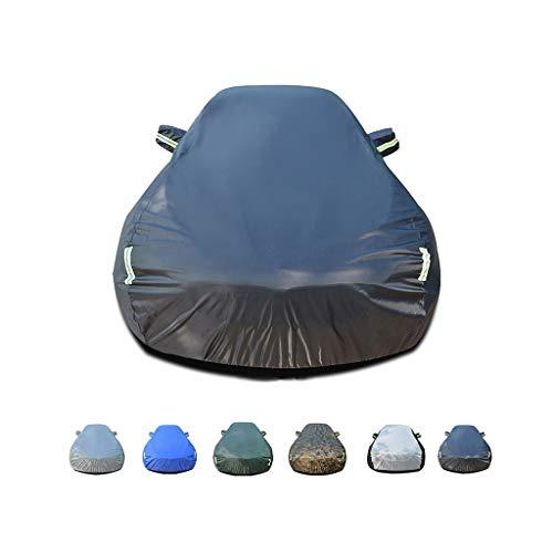 GSHWJS Autoschutzhülle aus Oxford-Gewebe, wasserdicht, winddicht, staubdicht, UV-beständig und feuerfest, geeignet für eine Verwendung in der Koenigsegg von CCX Autoabdeckung A.