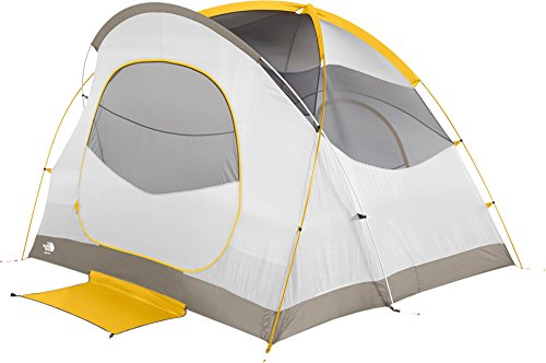 The North Face Kaiju 4 Tent Castor Grey/Arrowwood Yellow Size One Size