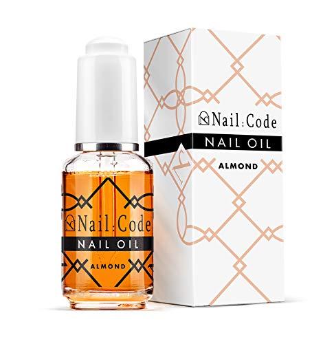 Nail:Code Nagelöl Nail & Cuticle Oil, Nagelpflegeöl 10ml. (almond 30ml.)