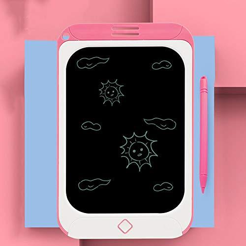 Lihgfw 8,5-Zoll-Zeichnung PortableTablet for Kinder, LCD Writing Tabelle bunten Schirm Doodle Brett Und Kinder Zeichenblock for Kinder ab 2 +, Zeichnung Tablet Mini Brett Handschrift (Color : Rosa)
