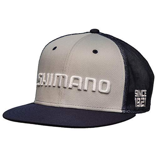 Shimano Q3 Proflex Fitted, Flatbill Hat (L/XL, Black)