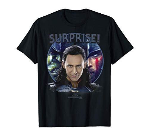 Marvel Thor Ragnarok Loki Surprise Shadows Camiseta