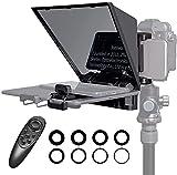 Feelworld TP2A Kit de Teleprompter Portátil...