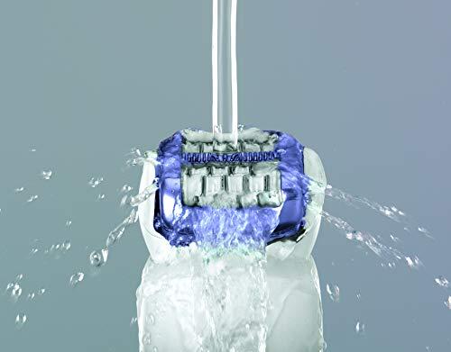 Panasonic - Es-Ed22-V503 - Epilateur 2 En 1, Double Disques, Tête Pivotante 60°, Wet & Dry